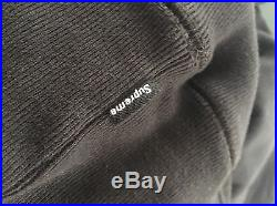 UA Supreme Box Logo Hoodie Black Size XL