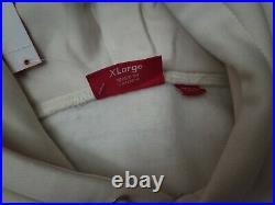 UA Supreme Cross Box Logo Hoodie Natural (SIZE XL)