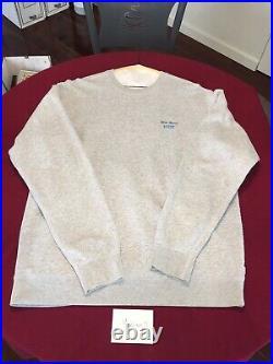 Vintage Supreme World Famous Box Logo Crewneck Sweatshirt Grey 2008 hoodie