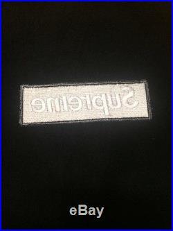 (XL) Supreme Black FW13 Box Logo Hoodie
